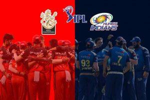 Royal Challengers Bangalore v Mumbai Indians 2021