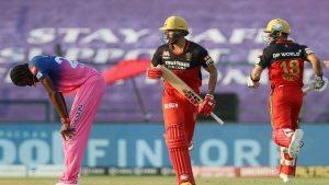 Rajasthan Royals v Royal Challengers Bangalore 2021