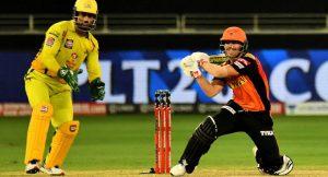 Sunrisers Hyderabad v Chennai Super Kings 2021