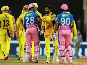 Rajasthan Royals v Chennai Super Kings 2021