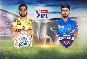 Delhi Capitals v Chennai Super Kings 2021