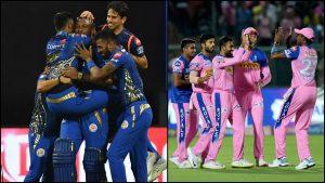 Rajasthan Royals v Mumbai Indians 2021