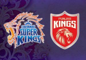 Chennai Super Kings v Punjab Kings 2021