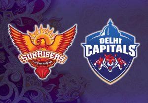 Delhi Capitals v Sunrisers Hyderabad 2021