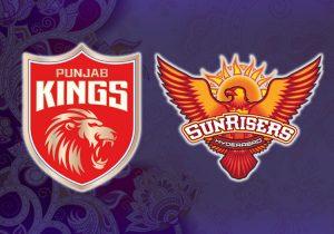 Sunrisers Hyderabad v Punjab Kings 2021