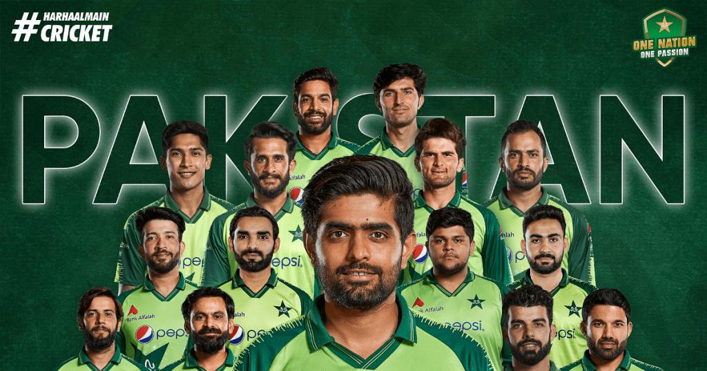 PCB announces Pakistan Team Squad for T20 World Cup 2021
